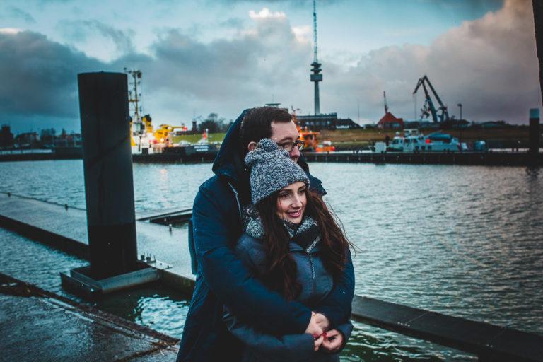Nadine und Björn in Wilhelmshaven