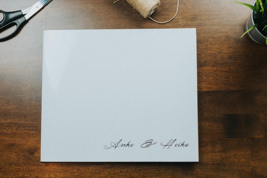 Hochzeitsfotobuch von Anke und Heiko