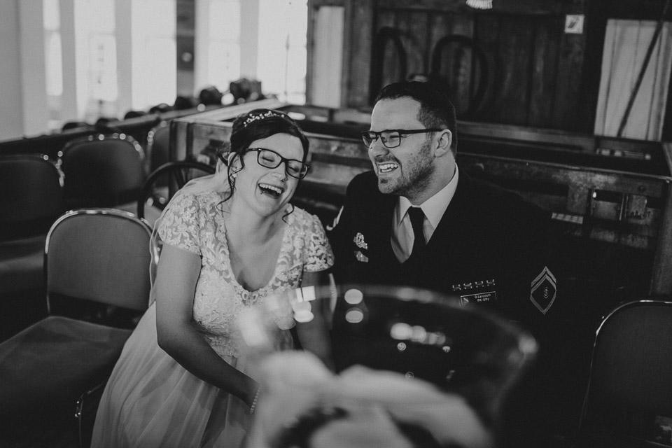 Trauung von Sarah und Daniel im Wattenmeerhaus in Wilhelmshaven 36
