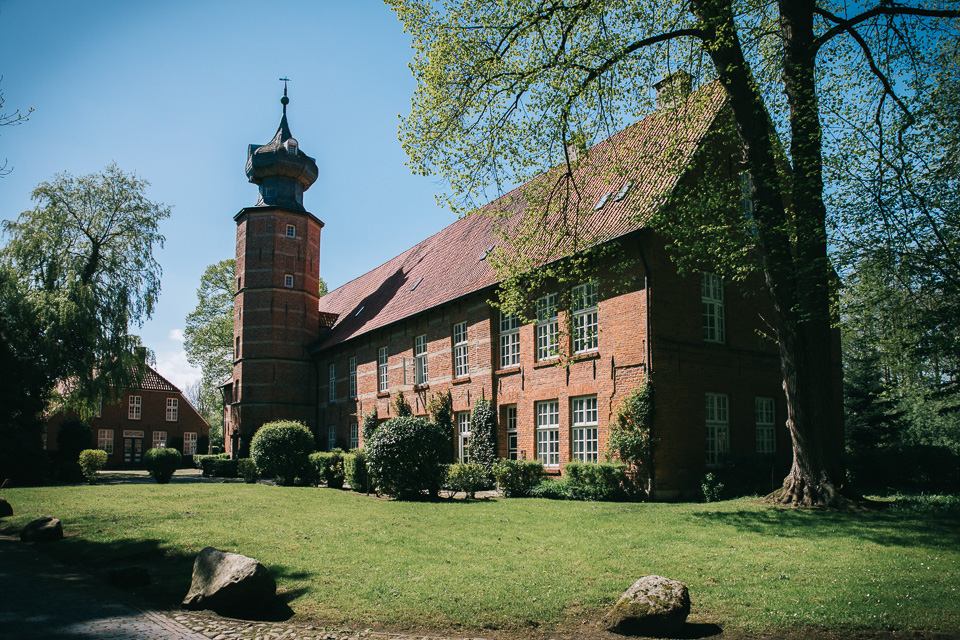 Standesamtliche Trauung in der Burg Kniphausen in Wilhelmshaven 001