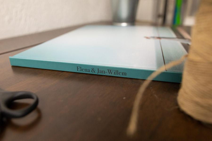 Hochzeitsfotobuch von Elena & Jan-Willem