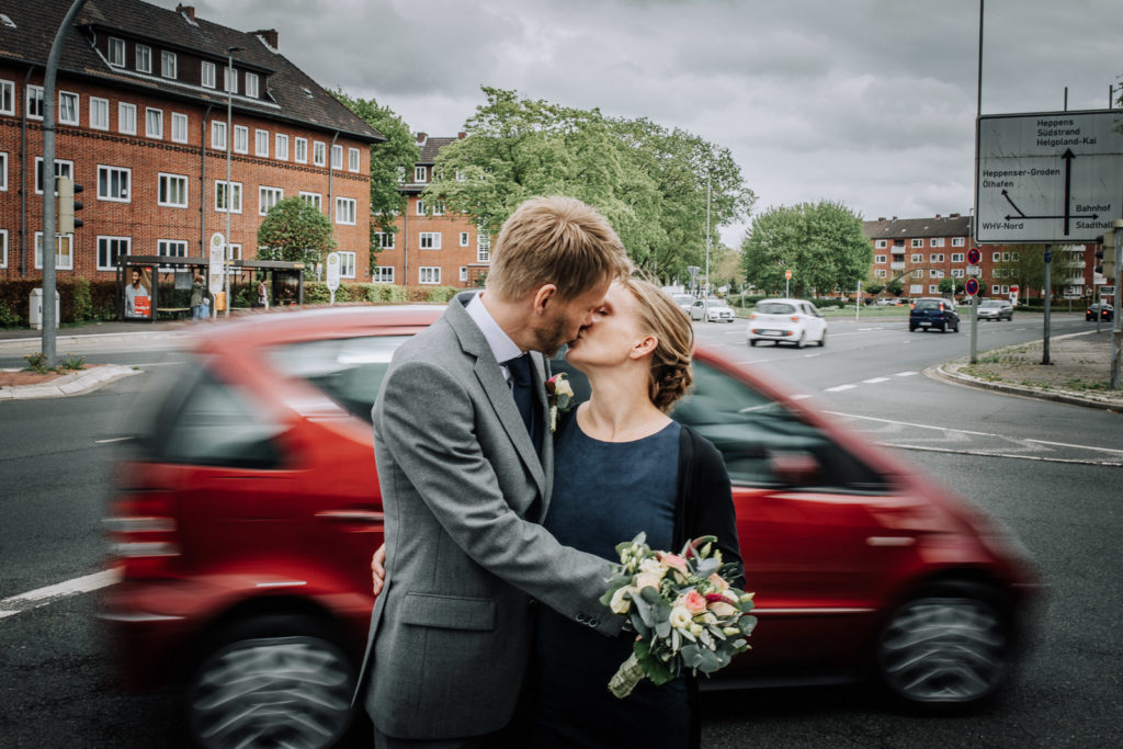 Marlene und Jan Wiebe Hochzeit in Wilhelmshaven