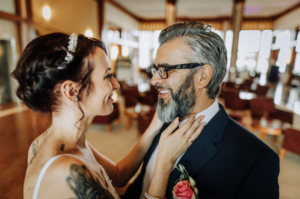 Hochzeitsfotos im Atlantic Hotel in Wilhelmshaven