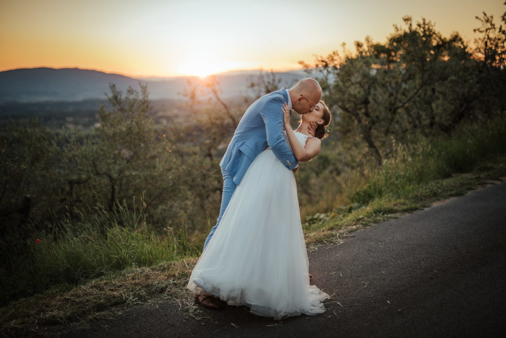 Hochzeit in der Toskana in Italien, Pian Di Sco